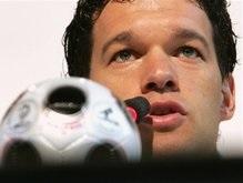 Евро-2008: Баллак сравнил себя с Зиданом