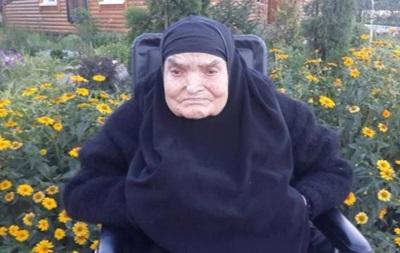 Старейшая женщина Украины умерла в монастыре