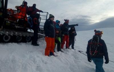 На Закарпатье нашли тело туриста, погибшего под лавиной