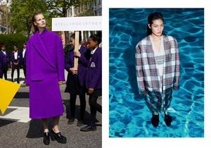 Стелла Маккартни отправила моделей в зимней одежде в бассейн