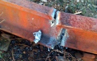 В Сумской области задержались поезда из-за разобранных рельсов