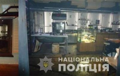Появилось видео поджога кафе в Днепре