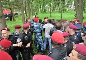 Главе тернопольской Свободы во время инцидента с коммунистами сломали нос