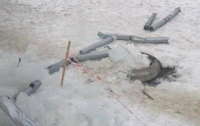 В Харькове ледяная глыба оставила дом без газа