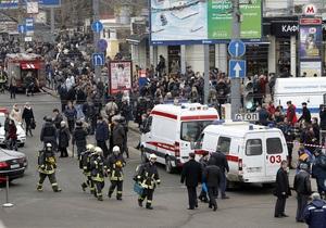 Теракты в московском метро: Число пострадавших достигло 160 человек