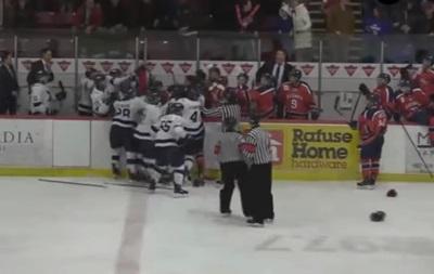 В Канаде хоккеисты набрали 310 минут штрафа в одном матче