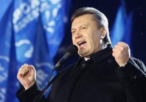 Янукович: Украина должна строить и Южный и Северный потоки
