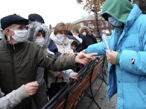 Австрия поможет Украине полумиллионом защитных масок
