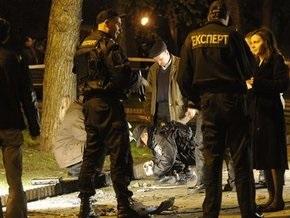 В Киеве неизвестный бросил взрывчатку в сотрудника СБУ