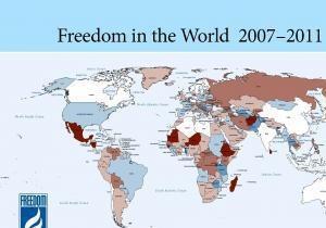 Freedom House констатирует откат Украины от западных идеалов