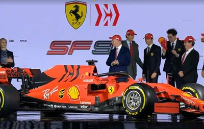 Феррари представила болид SF90 на сезон-2019