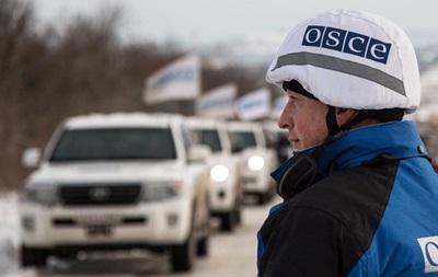 На Донбассе блокируется работа наблюдателей – ОБСЕ