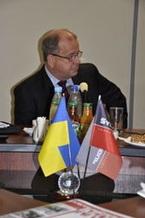 Визит генерального директора Datalogic Scanning GmbH в SystemGroup Украина