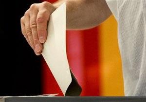 В Берлине стартовали местные выборы и выборы бургомистра