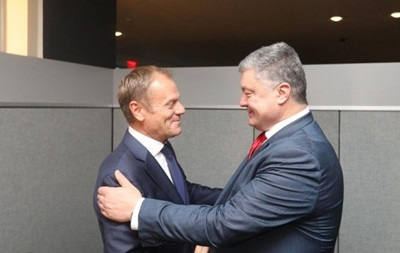 В Украину прибыл президент Евросоюза Дональд Туск