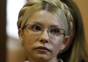В колонии неофициально подтвердили, что Тимошенко действительно голодает