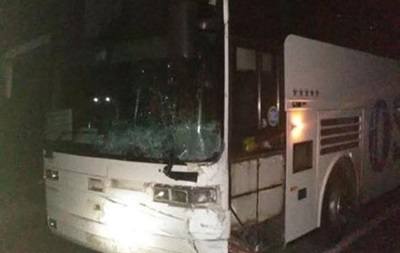 У Львівській області автобус з пасажирами потрапив у ДТП