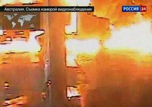 В Австралии на заправке взорвался бензовоз