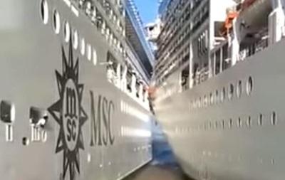 В Аргентині два круїзні лайнери зіткнулися в порту