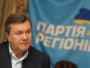 Янукович назвал провокацией выход Киселева из партии