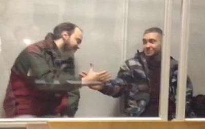 Фигуранты дела об убийстве милиционеров в Киеве вышли на свободу