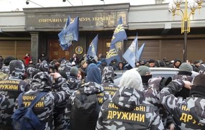 Скандал в оборонці: Нацкорпус протестує під ГПУ