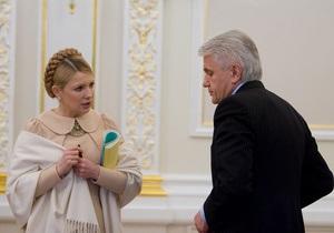 Литвин: БЮТ уменьшил шансы Тимошенко сохранить за собой кресло