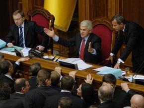 Литвин  умоляет  Партию регионов не мешать работать