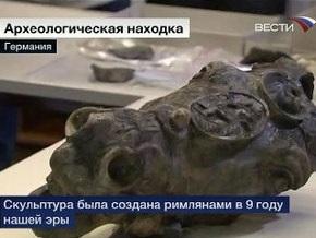 Немцы подняли со дна реки фрагменты 2000-летней статуи римского императора