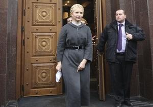 Посольство США: Дело Тимошенко должно вестись открыто и прозрачно