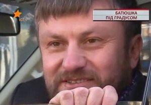 В центре Киева поймали пьяного священника за рулем внедорожника