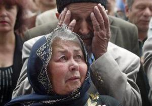 Крымские татары восстановили снесенные самострои,  готовы идти на все