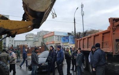 В Черкассах предприниматели вышли на митинг