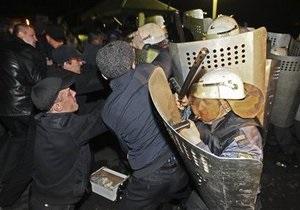 Протестующие жители шахтерского городка в России избили сотрудников ОМОН