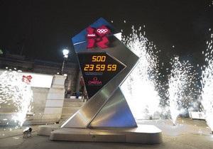 Олимпийские часы в Лондоне остановились раньше срока