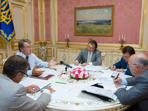 Ющенко не видит оснований для падения курса гривны