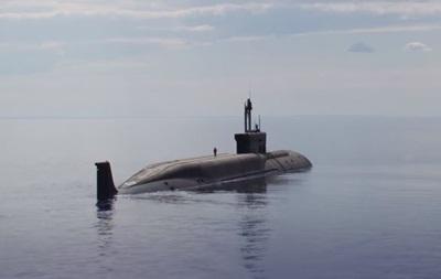 У РФ показали випробування нового підводного ракетоносця