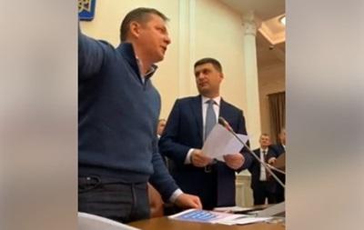 Ляшко зірвав засідання Кабміну через Коболєва