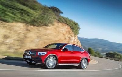 Mercedes-Benz оновив кросовер GLC Coupe
