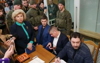 Москалькова прокоментувала рішення суду щодо Вишинського