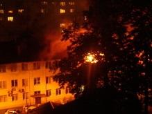 В Киеве горело здание Шевченковской прокуратуры