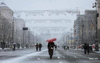 Зима возвращается: в Киеве ожидается снег