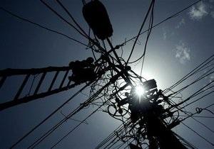 В 2009 году Украина сократила производство электроэнергии