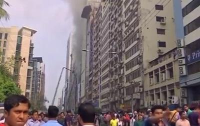Пожежа в хмарочосі Бангладешу: загинули 19 осіб