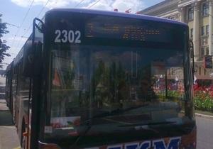 В Донецке из-за Януковича людей не выпускали из троллейбуса - блогер