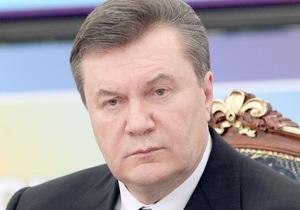 Янукович поручил Генпрокурору расследовать причины аварии на шахте Суходольская-Восточная