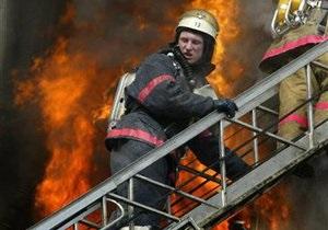 В Москве горит здание ГИТИС