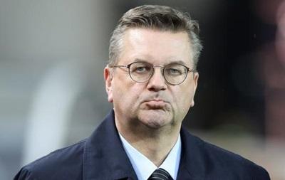 Глава Немецкого футбольного союза уволился из-за подарка Суркиса