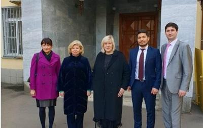 Єврокомісар відвідала українських моряків у Москві