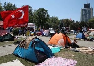 новости Турции - Стамбул - протесты - Эрдоган - В стамбульских протестах принимают участие тысячи человек